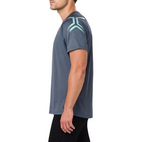 asics Icon - T-shirt course à pied Homme - bleu